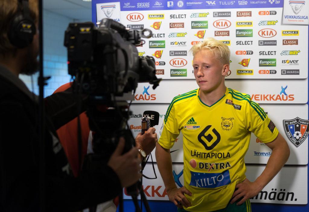 Mikael Soisalo valittiin jälleen ottelun parhaaksi pelaajaksi