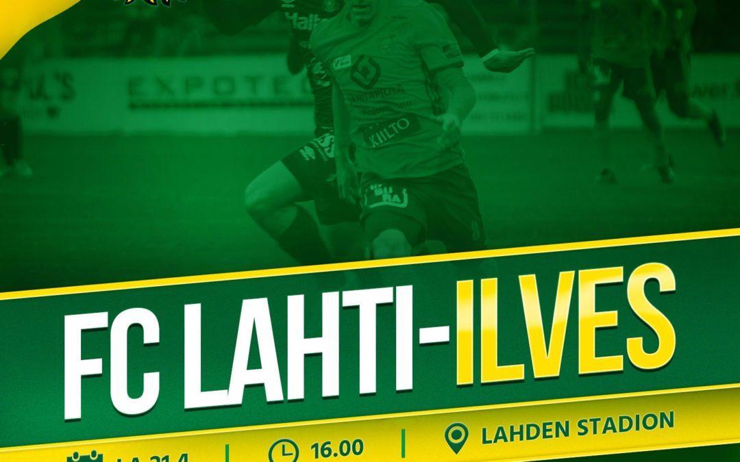 Otteluennakko: FC Lahti vs. Ilves