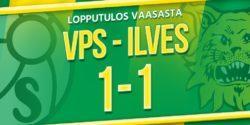 Otteluraportti: VPS vs. Ilves