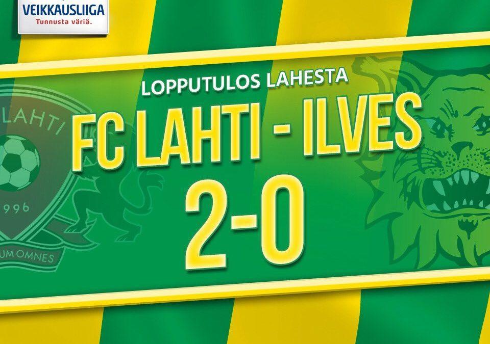 Otteluraportti: FC Lahti vs. Ilves