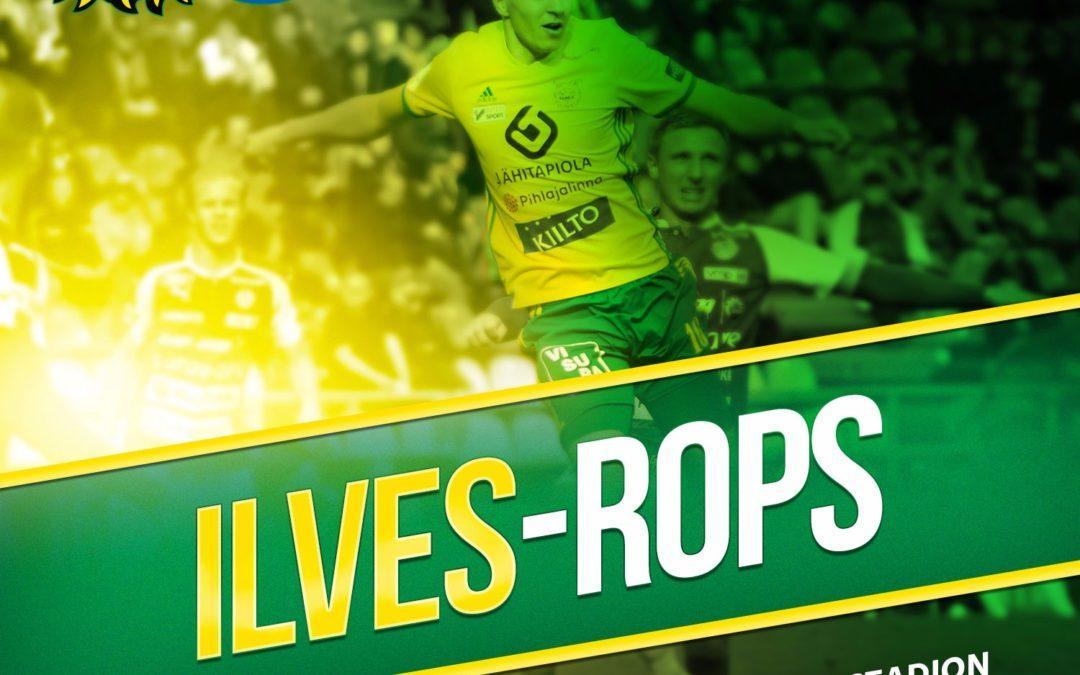 Otteluennakko: Ilves vs. RoPS