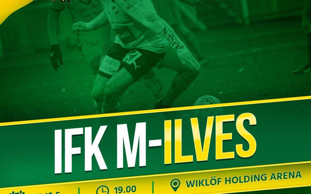 Otteluennakko: IFK Mariehamn – Ilves
