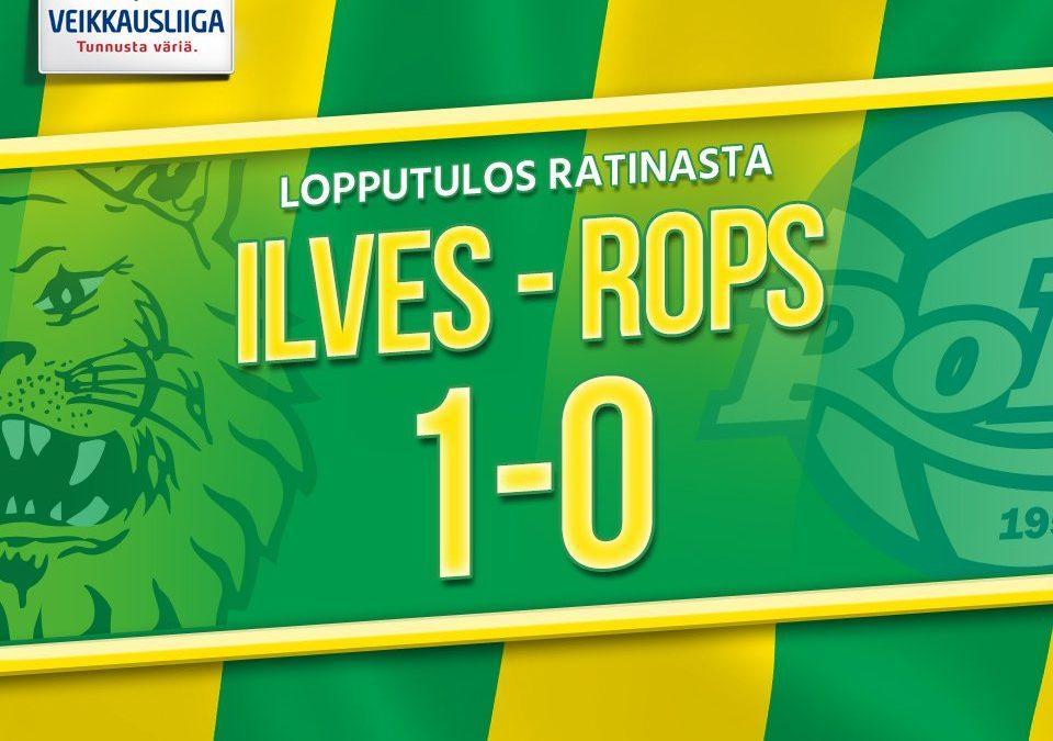 Raportti: Ilves voitti sarjakärki RoPS:n