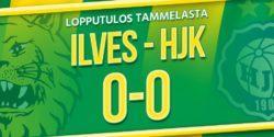 Raportti: Ilveksen ja HJK:n kova taistelu päättyi maalittomana
