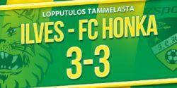Raportti: Ilves ja Honka viihdyttivät runsaslukuista yleisöä