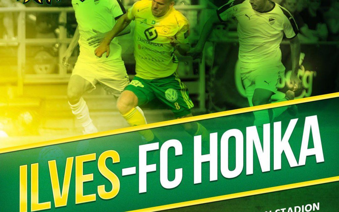 Otteluennakko: Ilves vs. FC Honka
