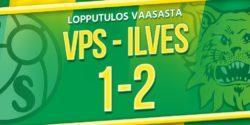 Raportti: Juoksuvoimainen Ilves haki pisteet Vaasasta