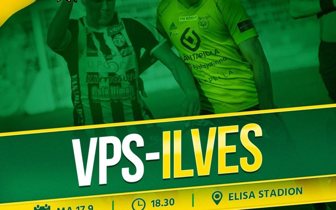 Otteluennakko: VPS vs. Ilves