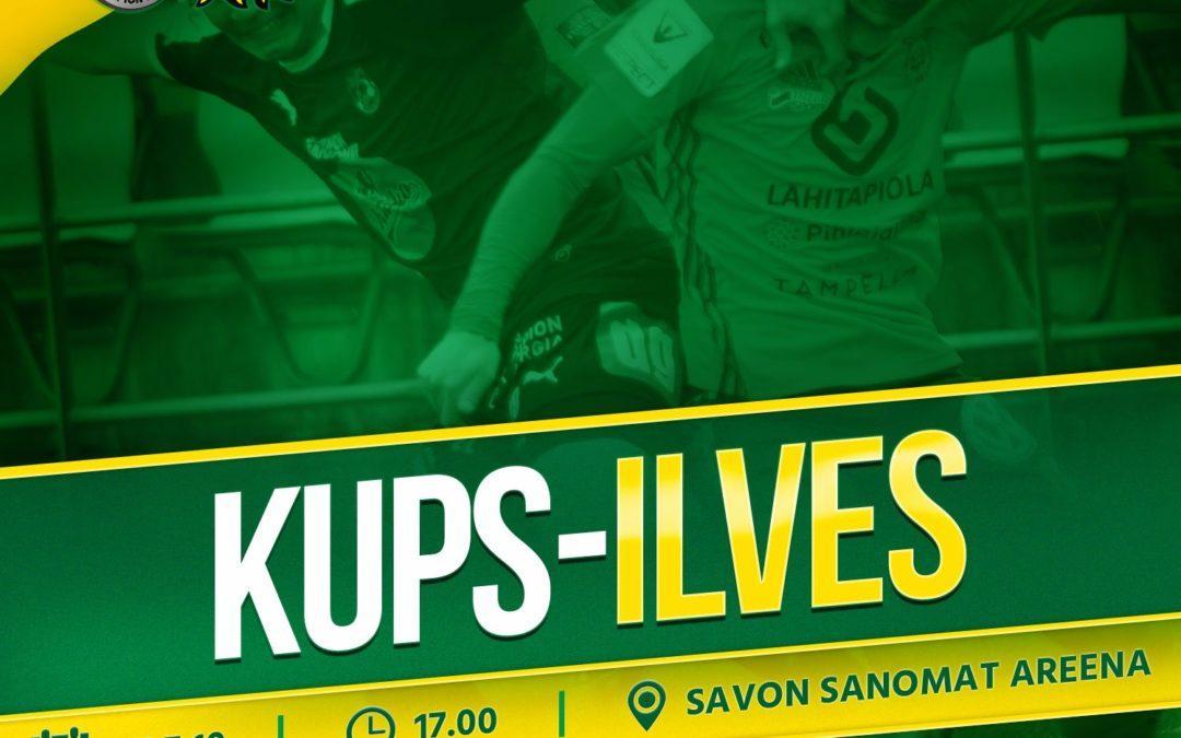 Otteluennakko: KuPS vs. Ilves