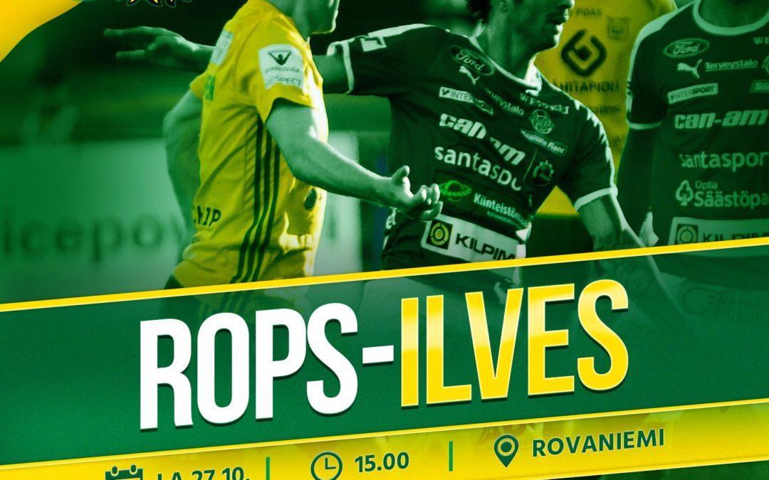 Otteluennakko: RoPS vs. Ilves