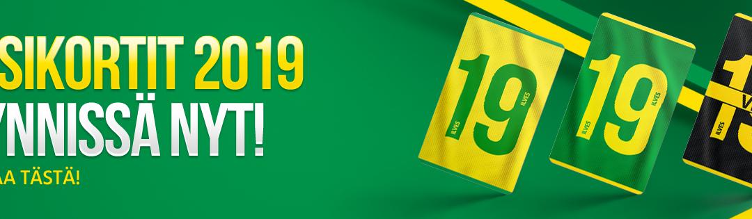 Kauden 2019 kausikorteilla näet myös Ilveksen Naisten Liigan ottelut