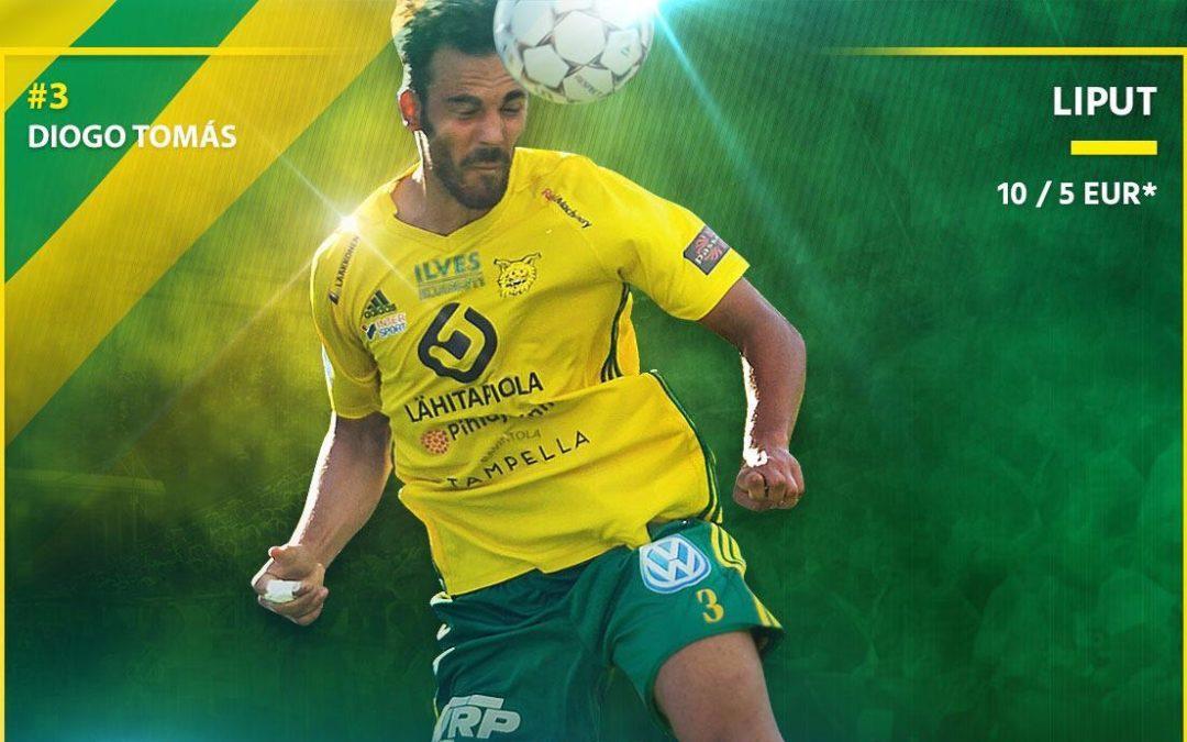 Suomen Cup Ilves – SJK la 2.2. klo 14.30