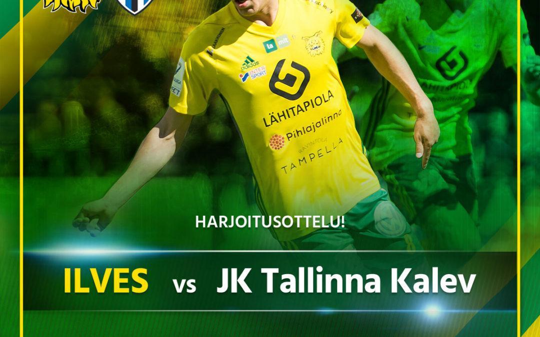 Ilves kohtaa lauantaina JK Tallinna Kalevin