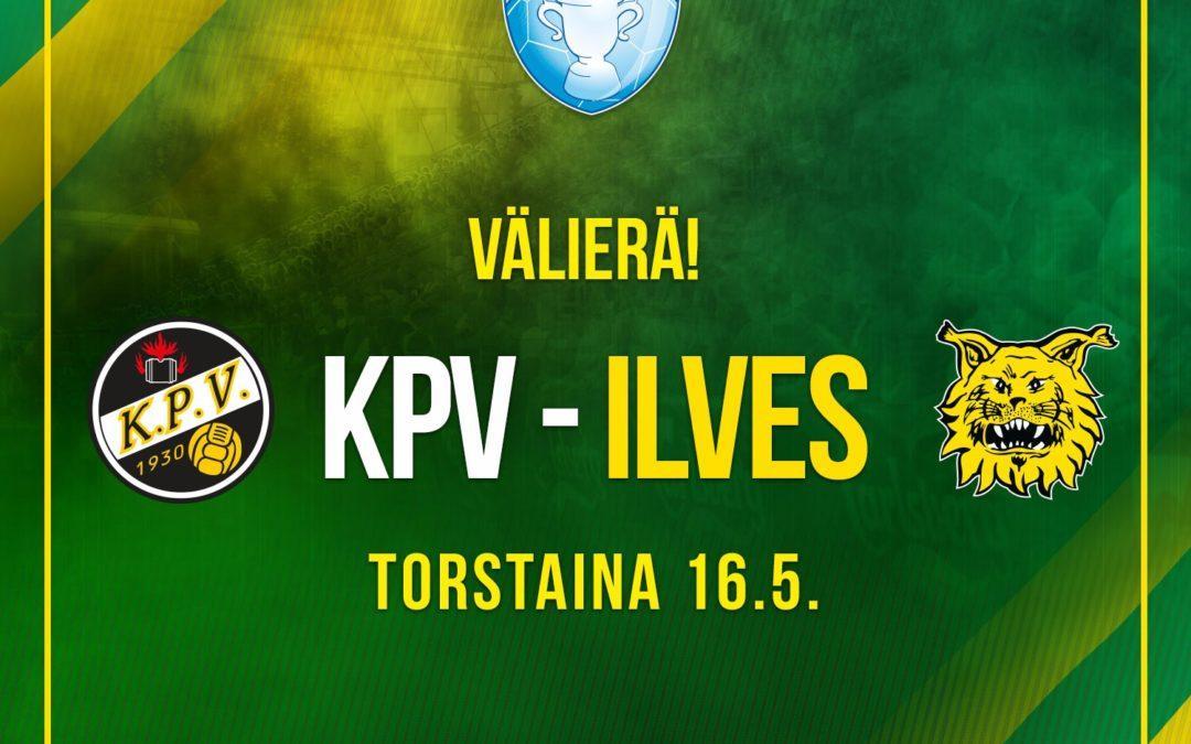Ilves kohtaa Suomen Cupin välierässä KPV:n