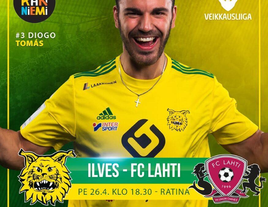 Ennakko: Ilves – FC Lahti, ryminää Ratinassa