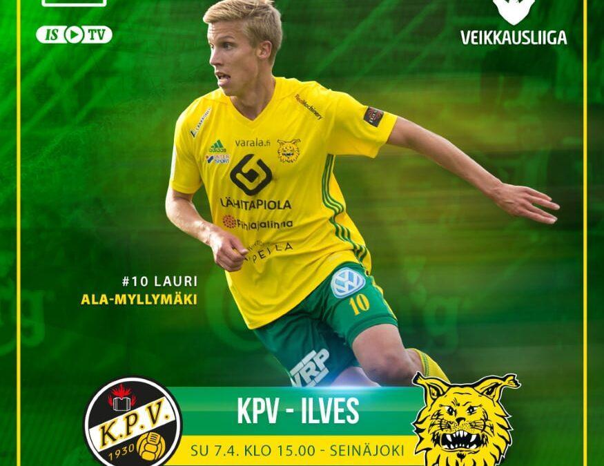 Ennakko: KPV – Ilves, sarja käynnistyy!