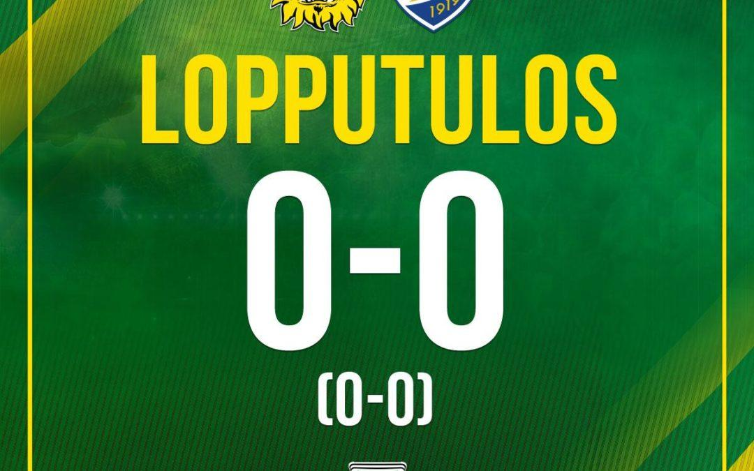 Raportti: Ilves ja IFK Mariehamn eivät vielä saaneet paremmuutta selville
