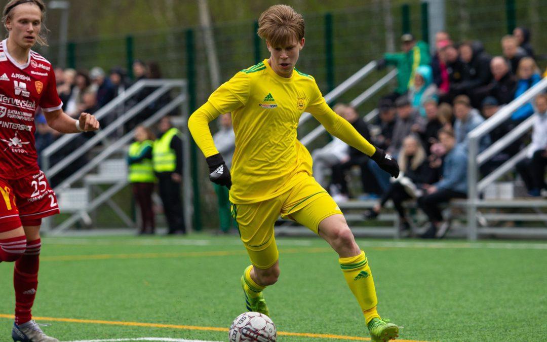 Janne-Pekka Laine valittiin U18-maajoukkueeseen