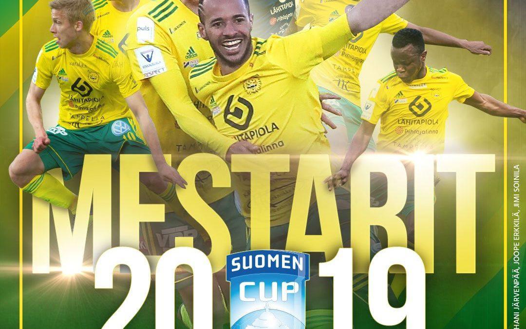 Raportti: Ilves voitti Suomen Cupin!