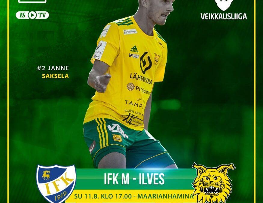 Ennakko: IFK M – Ilves, pistejahtiin saaristomerelle