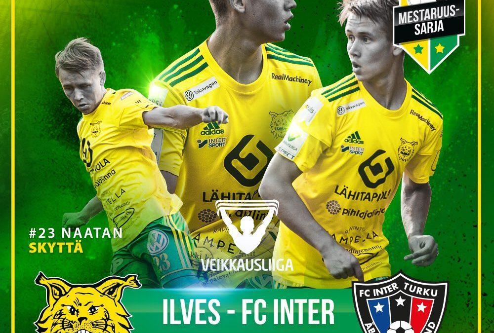 Ennakko: Ilves – FC Inter, ratkaisun hetkiä Tammelan iltavaloissa