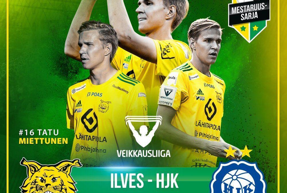 Ennakko: Ilves – HJK, kauden lopullinen huipennus