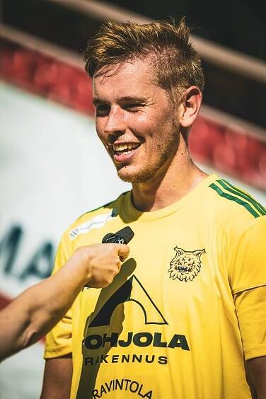 Ilari Mettälän vahva itseluottamus on auttanut kuntoutumaan vakavasta vammasta