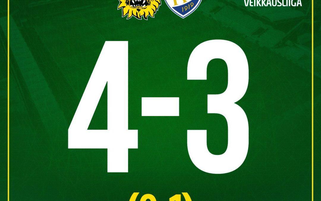 Raportti: Ilves voitti kauden avauksen maali-iloittelun jälkeen