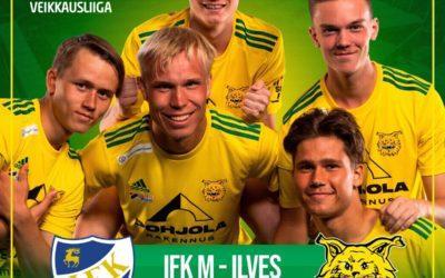Ennakko: Tasaväkiset Ilves ja IFK M kohtaavat