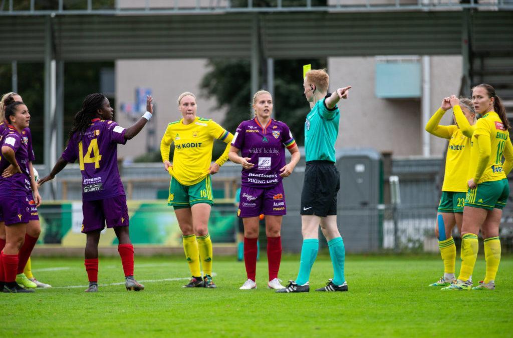 Otteluraportti: Ilves – Åland United – vahva alkurynnistys varmisti pisteet vieraille