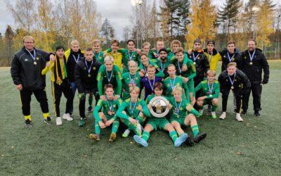 A-pojat Suomen mestariksi – P20 SM-sarjan mestaruus varmistui viimeisellä kierroksella lukemin 1-6!