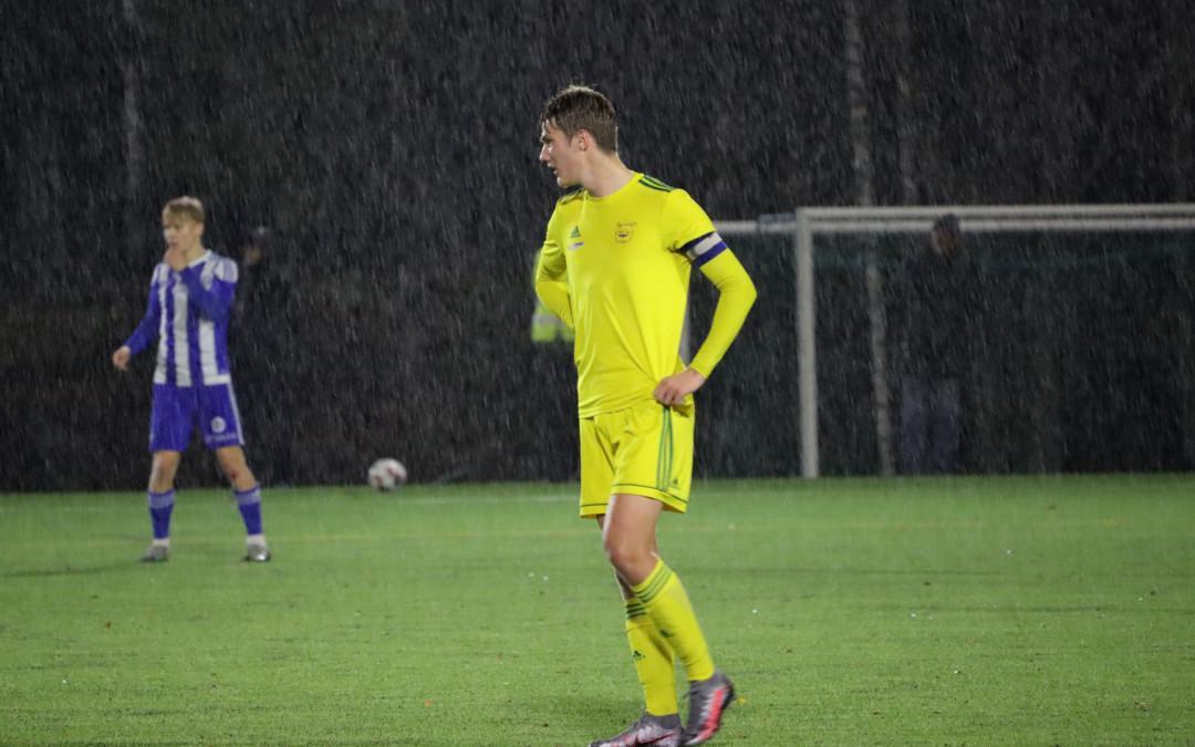 Otteluraportti: Ilves/2 – Klubi 04 0-3 – nuorten joukkueiden välinen kääntyi lohkovoittajille