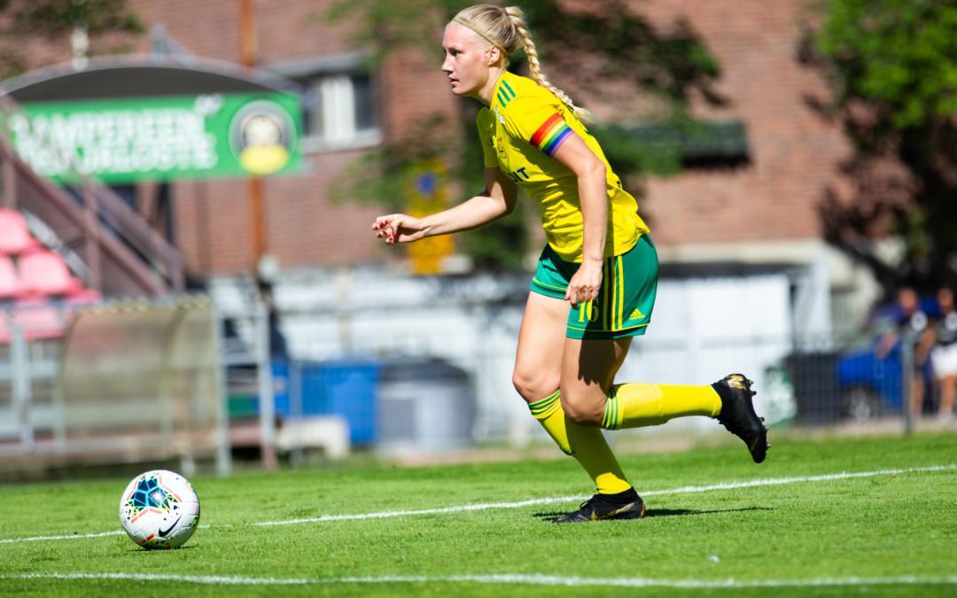 Kapteeni Sanni Ojanen siirtyy ensi kaudeksi saarelle – toppari solmi sopimuksen Åland Unitedin kanssa