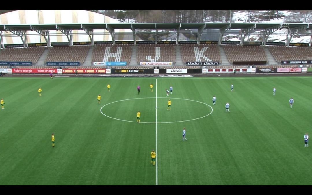 Suomen Cupin otteluraportti: HJK – Ilves 5-0 – HJK rynnisti välieriin