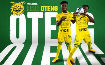 Eric Oteng siirtyy FC Nordsjællandista Ilvekseen