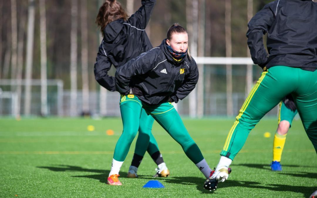 Julia Rytkönen haluaa jatkaa nousujohteista kehitystään