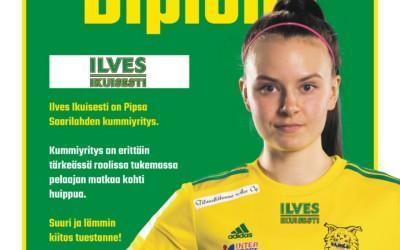 Kannattajayhdistys Ilves Ikuisesti ry on Pipsa Saarilahden kummiyritys
