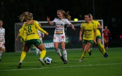 Raportti: Keltavihreät tasapeliin erikoisessa ottelussa – Silja Tuomisen maali pimensi Kaupin valot