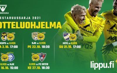 Mestaruussarjan otteluohjelma julkaistu – Kotiotteluissa vastaan HJK ja FC Inter!
