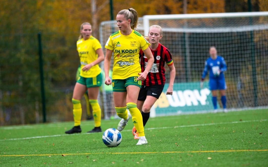 """Silja Tuominen valittiin U23-maajoukkueleirille – """"mahtava mahdollisuus kehittyä pelaajana"""""""